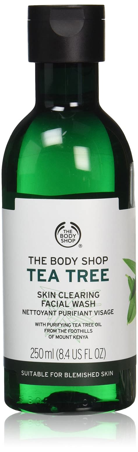 Pelembab Tea Tree The Shop the shop tea tree wash 250 ml ebay