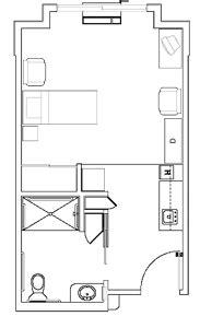 Microwave Merk Kris Room Tours Chehalis West Assisted Living Center