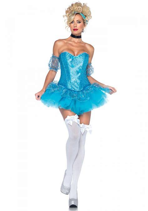 leg l costume leg avenue 5pc cinderella costume size l