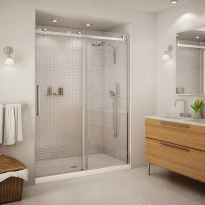 Keystone By Maax Halo 60 Inch Big Roller Sliding Door Keystone Shower Door