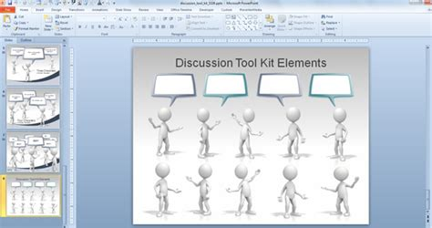 Animated Callouts, Speech Bubbles and Discussion Templates