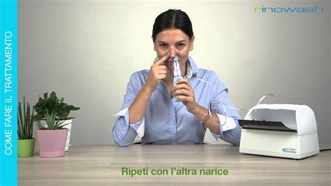 rinowash doccia nasale rinowash doccia nasale micronizzata per le vie aeree