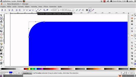 Inkscape Tutorial Iniciantes | tutorial inkscape quadrado com dois canto boleados youtube
