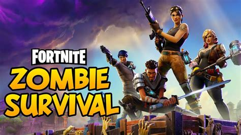 fortnite zombies free fortnite new zombies base building defense crafting