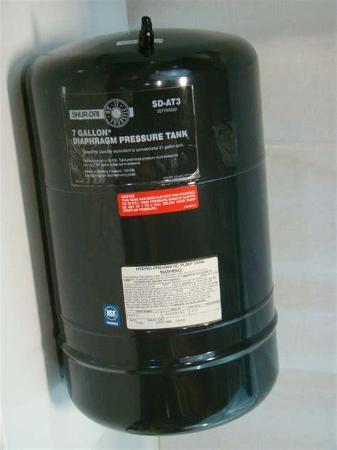 shur dri  gallon diaphragm pressure tank  sd  ebay