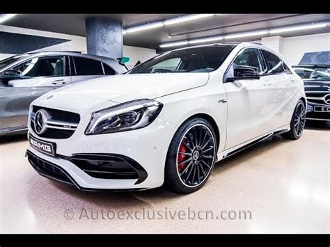 mercedes 45 amg turbo mercedes a 45 amg 4matic turbo 381 c v 2016