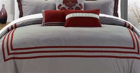 Red Cosmo Comforter Set Zulily Bed Covers Pinterest Cosmo Bedding