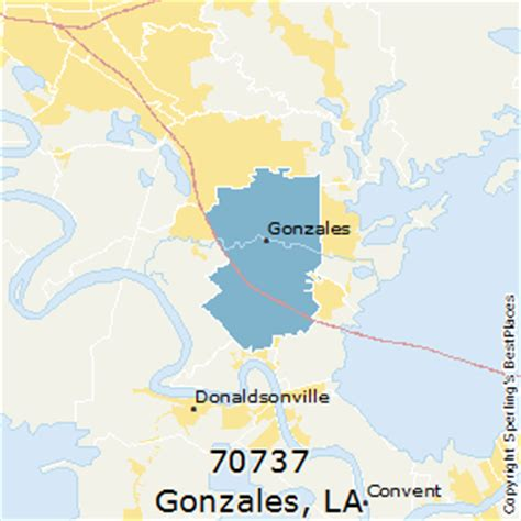louisiana map gonzales best places to live in gonzales zip 70737 louisiana