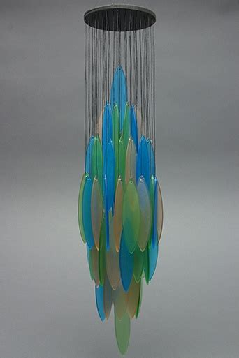 Handmade Glass Wind Chimes - glass wind chimes at shop handmade glas in lood