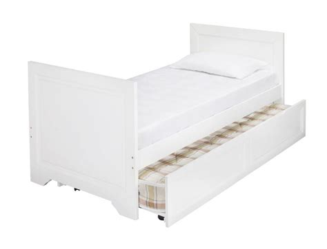 White Trundle Bed by Westport White Wooden Day Bed Plus Trundle Bf Beds Leeds