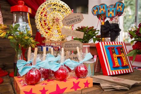 carnival themes for baby showers kara s party ideas circus carnival baby shower step right up