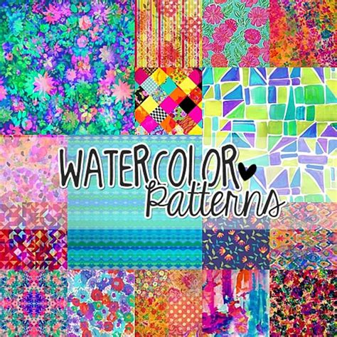 watercolor pattern download 43 watercolour patterns photoshop patterns textures