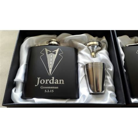graphic engraving flask with graphic engraving