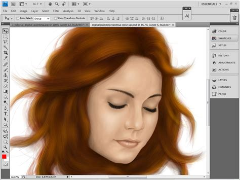 adobe photoshop painting tutorial 20 excellent adobe photoshop drawing tutorials top