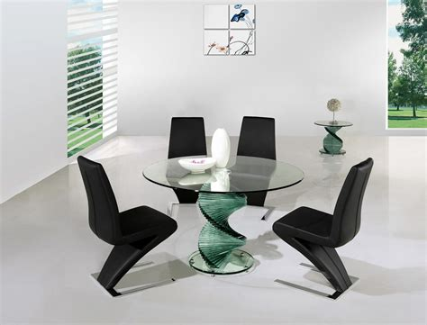 contemporary glass dining table glass dining tables coraline glass top modern dining