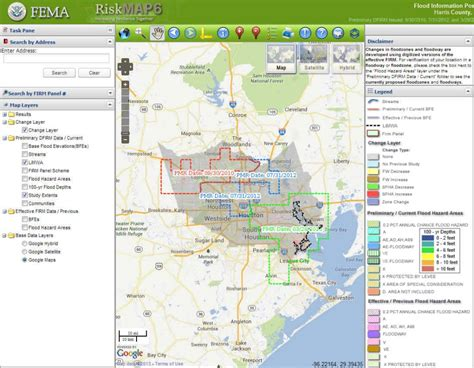 texas flooding map flood plain maps houston texas images
