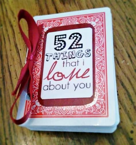 52 things i about you cards template 5 unique gift ideas for your distance boo thing