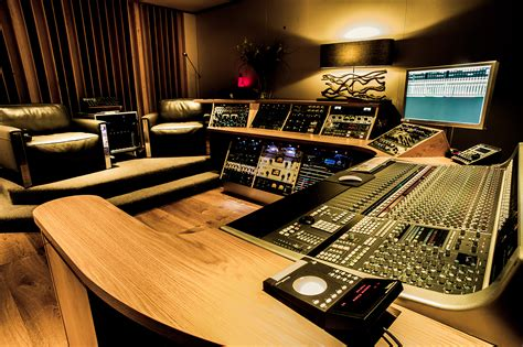 Solid State Logic A Sharp Recording Studios