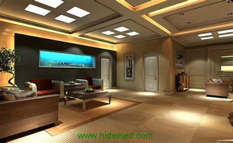 Led Lighting For Living Room by Living Room Decoration With Led Panel Light Cnhidee Led