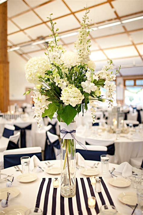 Table Vases For Weddings by Wedding Centerpieces Nautical Wedding Flower Arrangements Napkins Runners