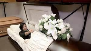 Child Funeral Open Casket   Image Mag