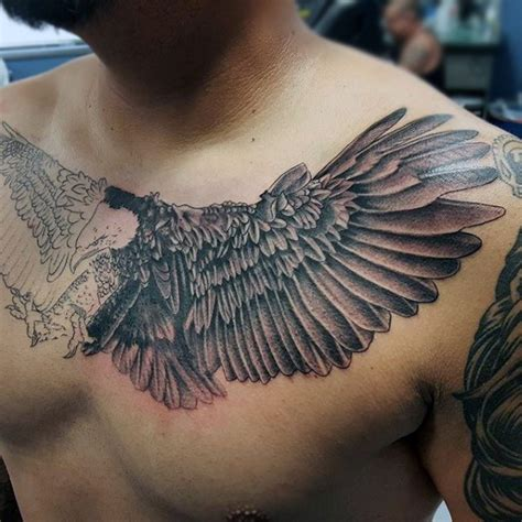 tattoo chest eagle eagle chest tattoo designs ideas and meaning tattoos