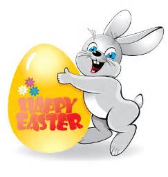 Easter bunny clipart free easter bunny with eggs clip art