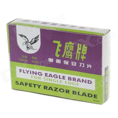 Flying Eagle Fast Blade Black Blue anyone tried flying eagle single edge stainless blades