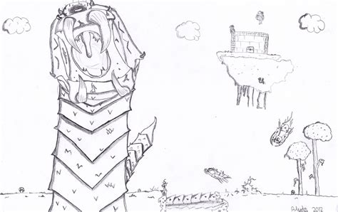 free coloring pages of terraria