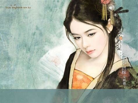 anime chinese girl wallpaper graceful ancient chinese girl wallpaper 25 asian art