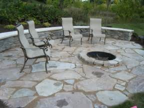 Patios With Fire Pits by Outdoor Patio With Fire Pit Landscaping Gardening Ideas