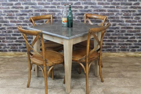 Cafe Style Dining Table Square Top Cafe Restaurant Tables Vintage Industrial Retro