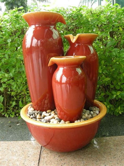 Vase Fountains by Lt Fv004r Cascade Vase Sears Outlet