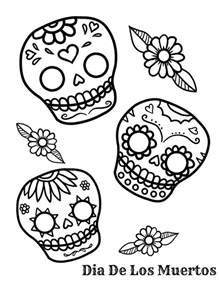 sugar skulls coloring pages sugar skull coloring pages az coloring pages