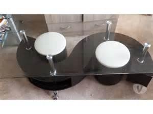 table basse verre 6 poufs clasf