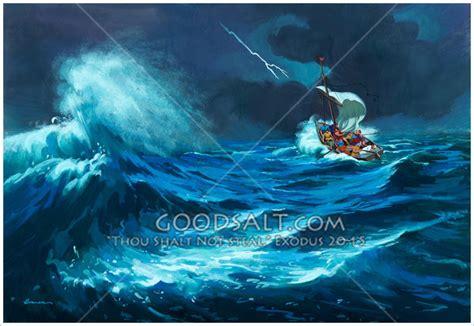 small boat lyrics jesus and the storm