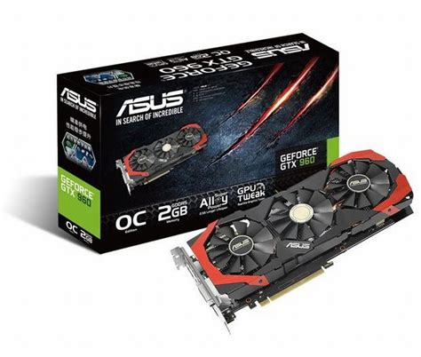 Vr Box Asus asus geforce gtx 960 directcu3 graphics card launched