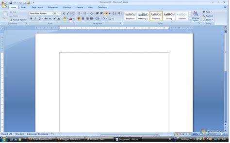membuat dokumen html cara membuat dokumen baru pada microsoft word 2007