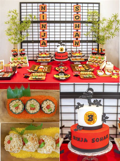 Japanese Decorating Ideas a japanese origami dojo ninja birthday party party ideas