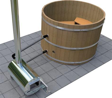 wood heated bathtub cedar wood hot tub wood fired seats 4 wooden hottub