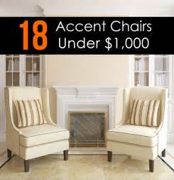 accent chairs in living room 18 attractive accent chairs under 100