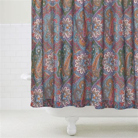 paisley print shower curtain paisley shower curtain www imgkid com the image kid