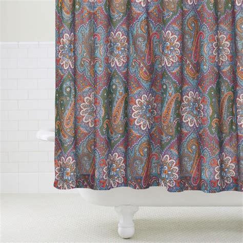 paisley print shower curtain paisley shower curtain www imgkid com the image kid