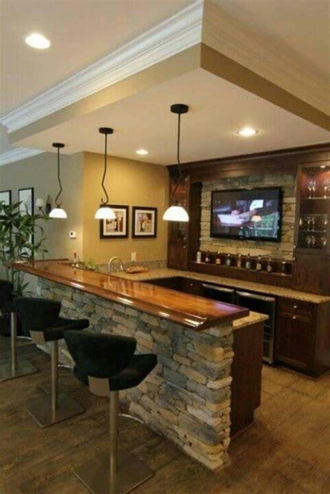 bar area ideas basement wet bar like the stone basement bar pinterest
