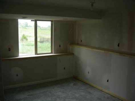 basement ledges wall how to make basement window sills