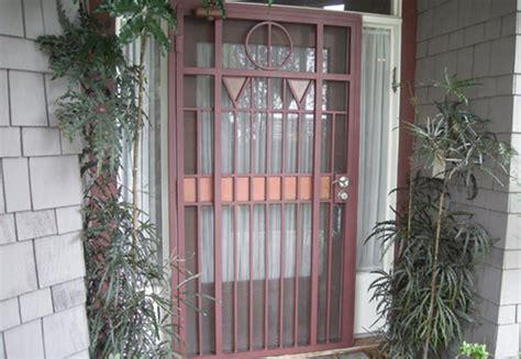 exterior wrought iron doors wrought iron security doors screens san diego ca