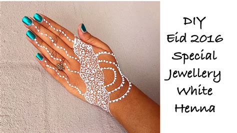 how to preserve a henna tattoo how to make easy white henna mehndi jewellery styled