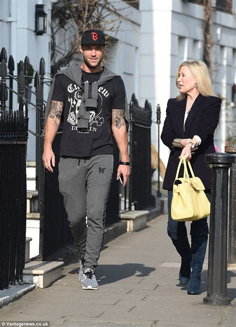 Calum Best Is Still A Fame by Calum Best Enjoys A Day Out With His Angie Daily