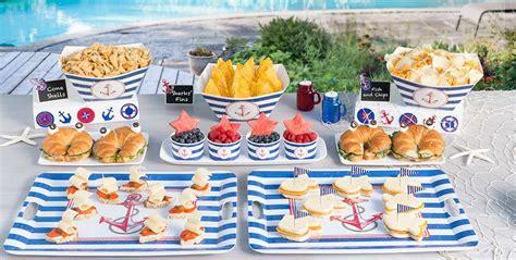 Party City Nautical Theme - striped nautical theme party party city
