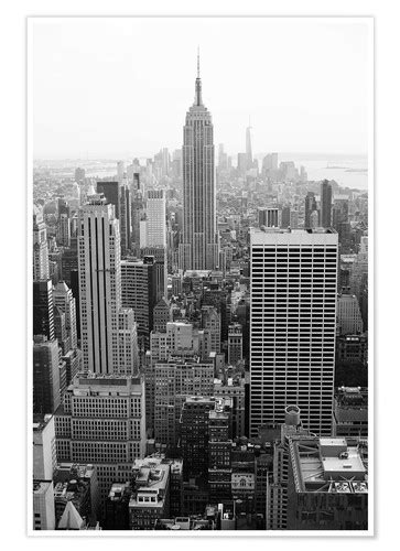 Wolkenkratzer in New York City, USA Poster Poster online